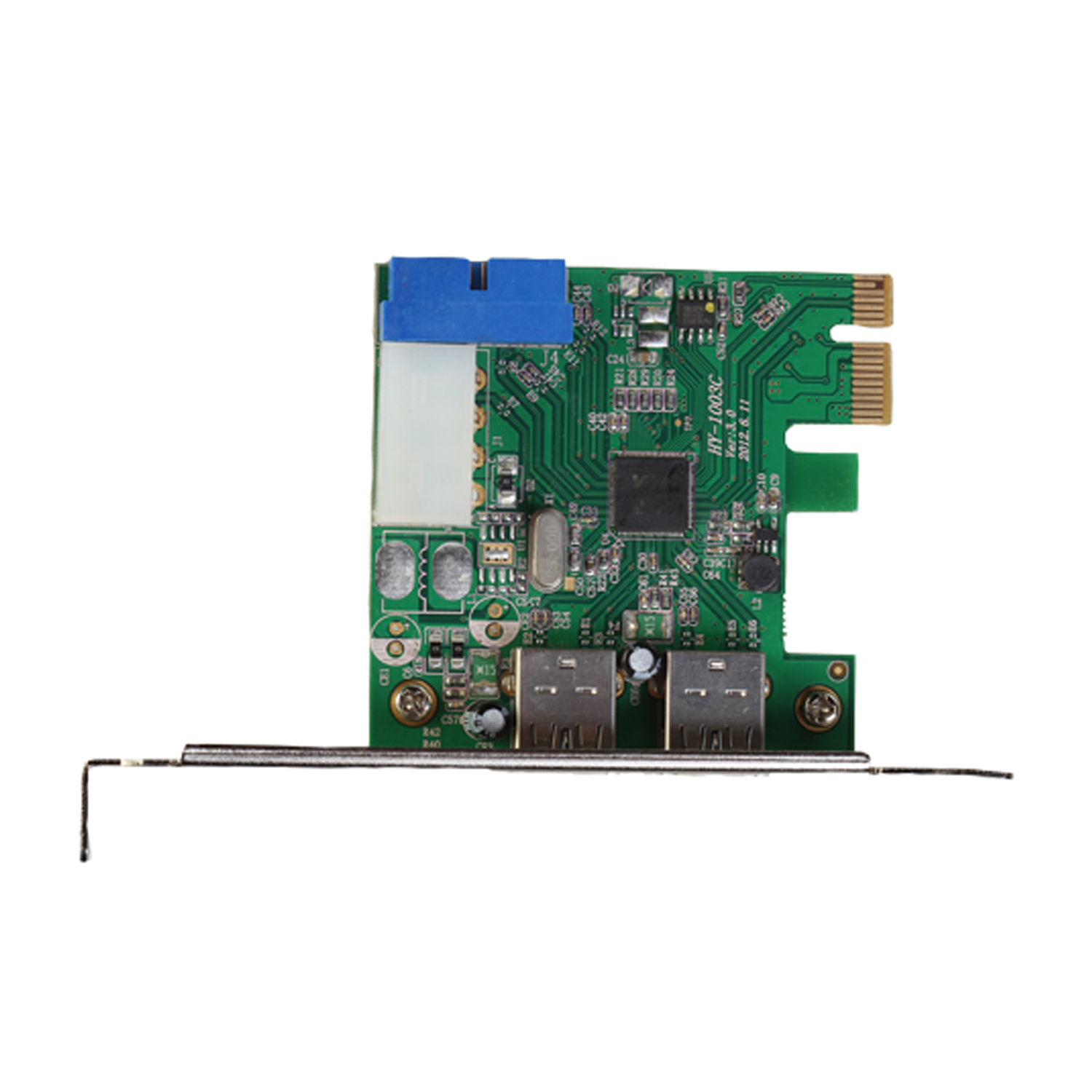 PCI-E EXPRESS CARD 4X PUERTOS USB 3.0