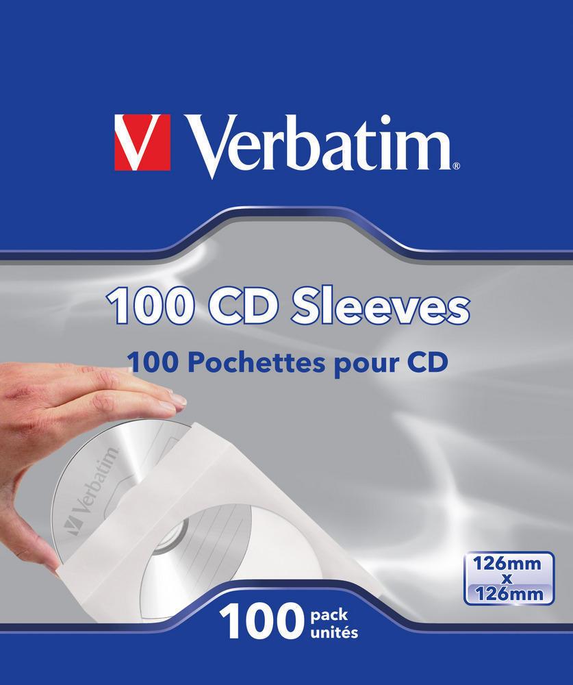 FUNDAS DE CD (PAPEL), PAQ 100