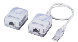 AMPLIFICATEUR USB/RJ45 USB RJ45 CAT 5 BLANCO ADAPTADOR DE CABLE CONVERTIDORES