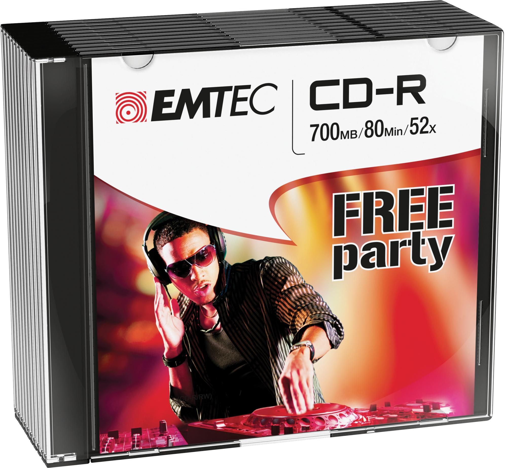 ECOC801052SL CD-R 700MB 10PIEZA(S) CD EN BLANCO CD/DVD/DISQUETES VÍRGENES