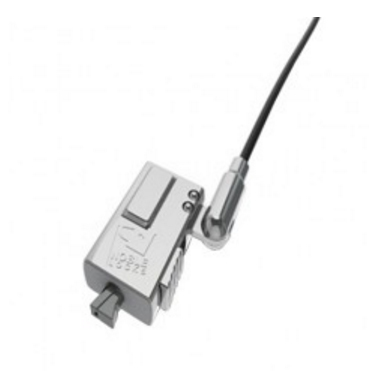 Wdg08 Negro, Plata Cable Antirrobo