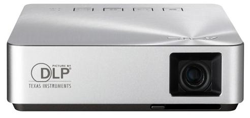 S1 PROYECTOR PORTáTIL 200LúMENES ANSI DLP WVGA (854X480) PLATA VIDEOPROYECTOR