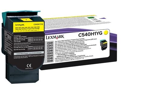 Lexmark-C54X-X54X-CARTUCHO-TONER-AMARILLO-ALTO-RTO-RBLE-2-P