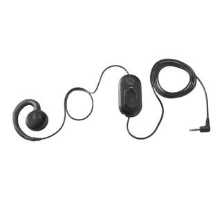 Hdst-25mm-ptvp-01 Monoaural Negro Auricular Con Micrófono
