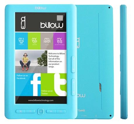 """E2TLB 7"""" 4GB AZUL LECTORE DE E-BOOK"""