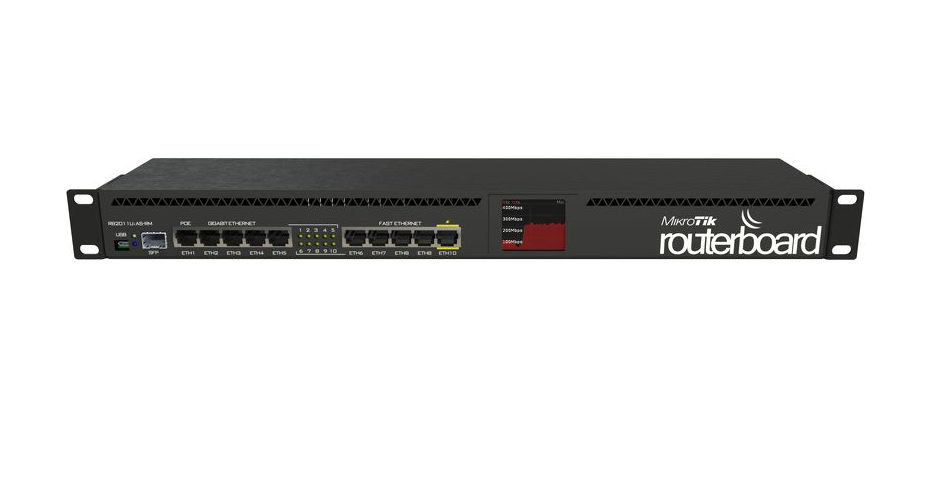 RB2011UIAS-RM ETHERNET NEGRO ROUTER