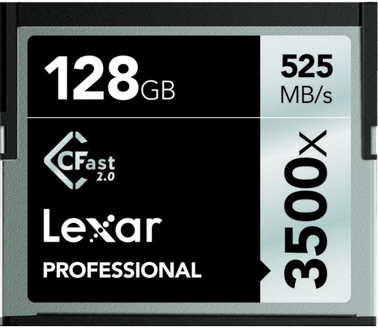 CFAST 2.0, 128GB MEMORIA FLASH COMPACTFLASH