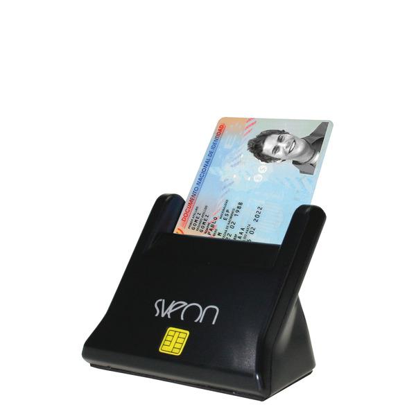 Lector Base Externo Dnie/smartcards Sveon Sct022 - Compatible Con Dni 3.0 - Usb 2.0
