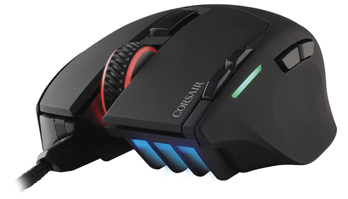 CH-9303011-EU USB ÓPTICO 10000DPI MANO DERECHA NEGRO RATóN RATONES CON CABLE