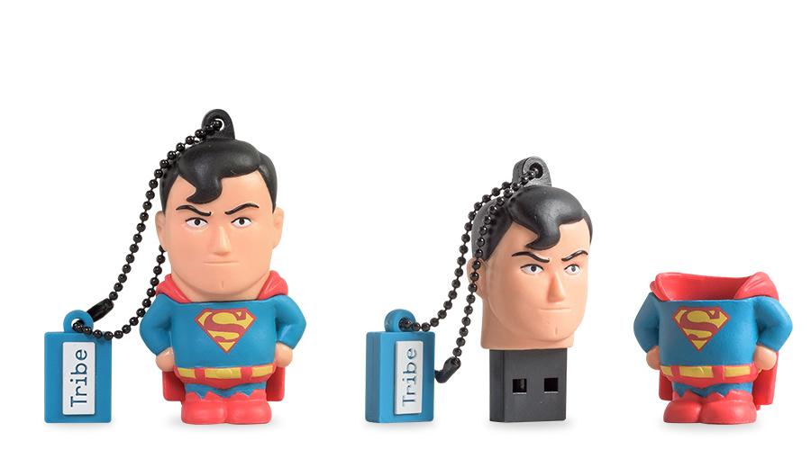 Dc Comics Superman Unidad Flash Usb 16 Gb Usb Tipo A 2.0 Multicolor