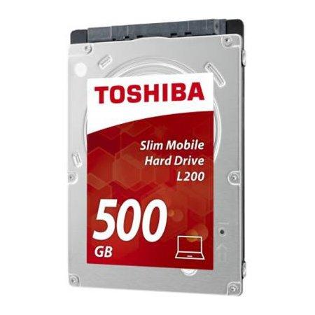 "DISCO DURO INTERNO TOSHIBA HDWK105UZSVA - 500GB - 2.5"" / 6.35CM - 5400RPM - SATA3"