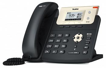 SIP-T21 E2 TELéFONO IP NEGRO, ORO TERMINAL CON CONEXIóN POR CABLE LCD