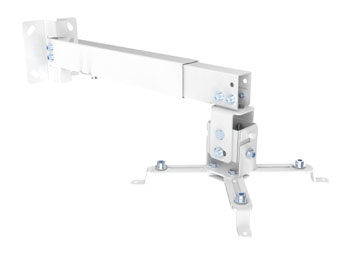 PROJECTOR BRACKET WALL/CEILING PARED BLANCO MONTAJE PARA PROJECTOR