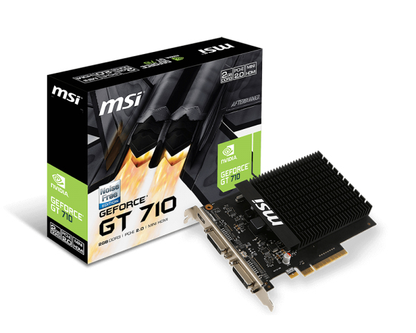 GT 710 2GD3H H2D GEFORCE GT 710 2GB GDDR3