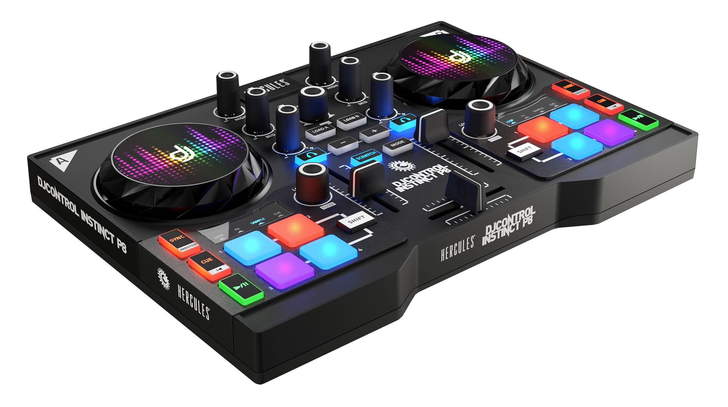 INSTINCT P8 2CHANNELS NEGRO CONTROLADOR DJ