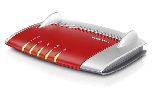 Fritz!box 7560 Doble Banda (2,4 Ghz / 5 Ghz) Gigabit Ethernet 3g Rojo Router Inalámbrico