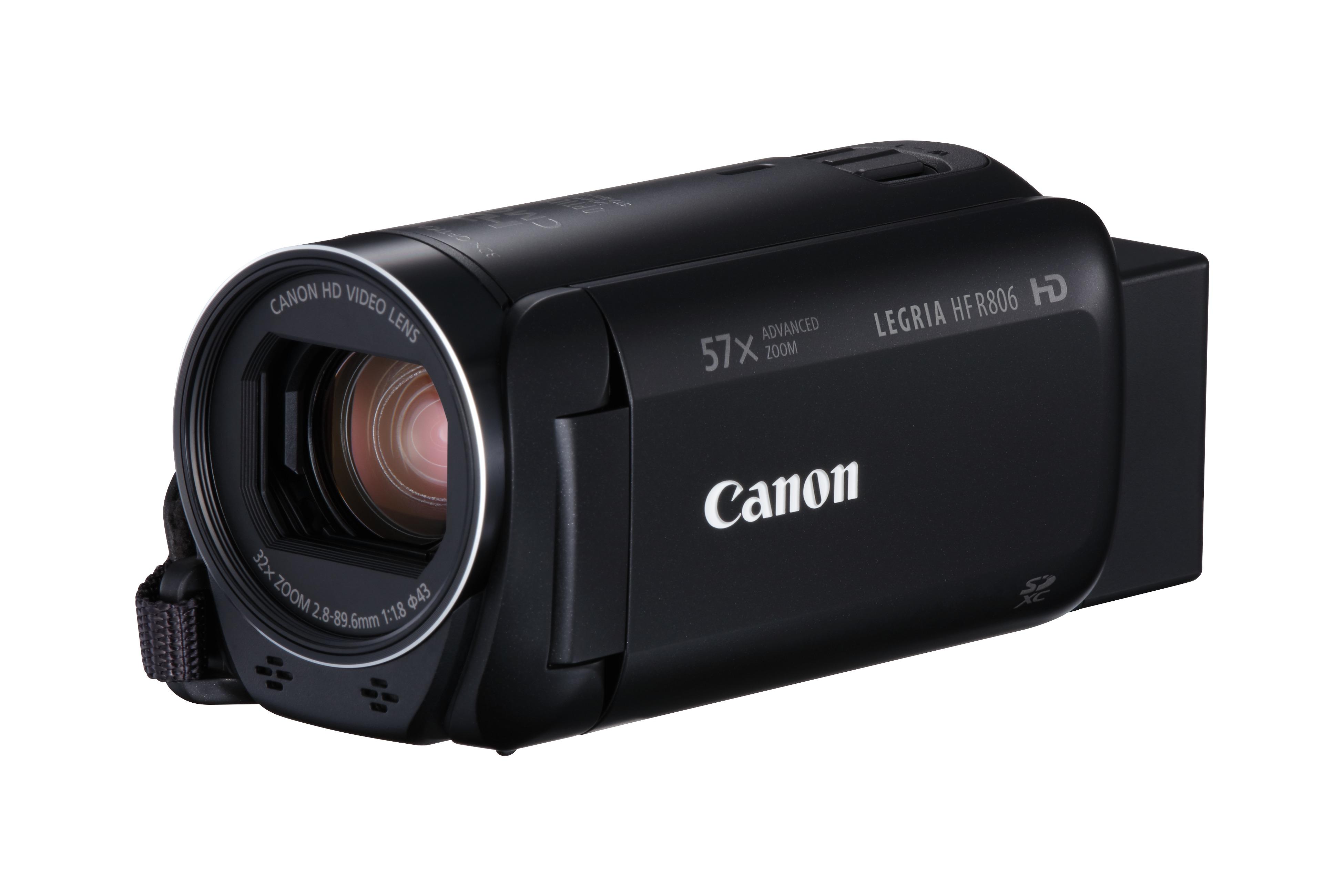 LEGRIA HF R806 VIDEOCáMARA MANUAL 3.28MP CMOS FULL HD NEGRO