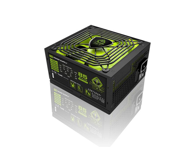 Fuente De Alimentacion Modular Gaming Keep Out Fx700b 700w,  Eficiencia Energetica 85+, Pfc Activo, Vent. 14x14cm, >14db. Apfc - Erp/eup