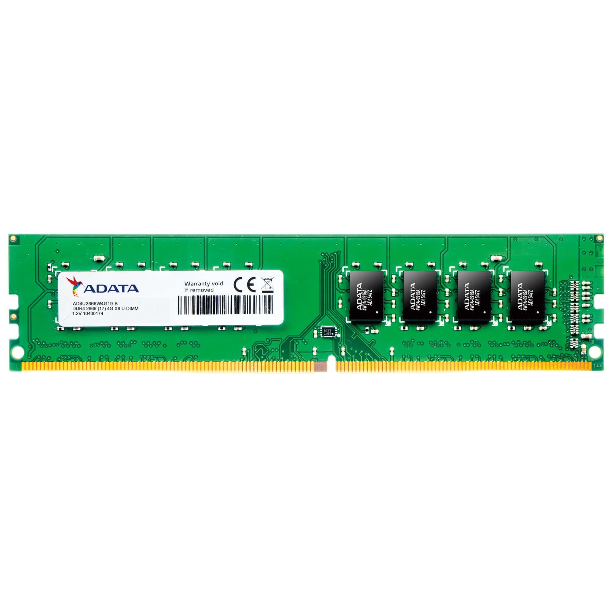 PREMIER MóDULO DE MEMORIA 4 GB DDR4 2666 MHZ