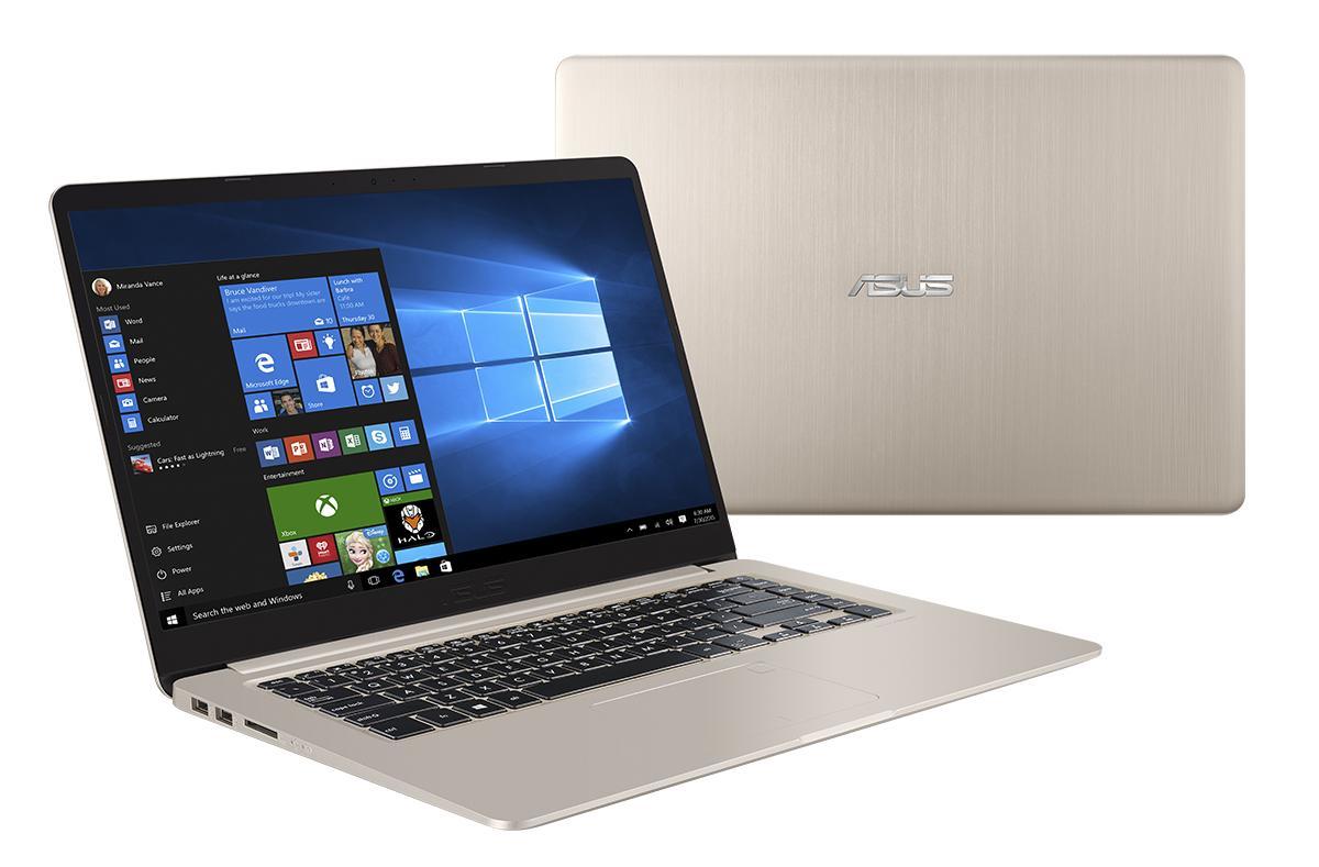 """VIVOBOOK S510UA-BR249T 2.4GHZ I3-7100U 15.6"""" 1366 X 768PIXELES ORO PORTáTIL ORDENADOR PORTATIL PC PORTÁTILES"""