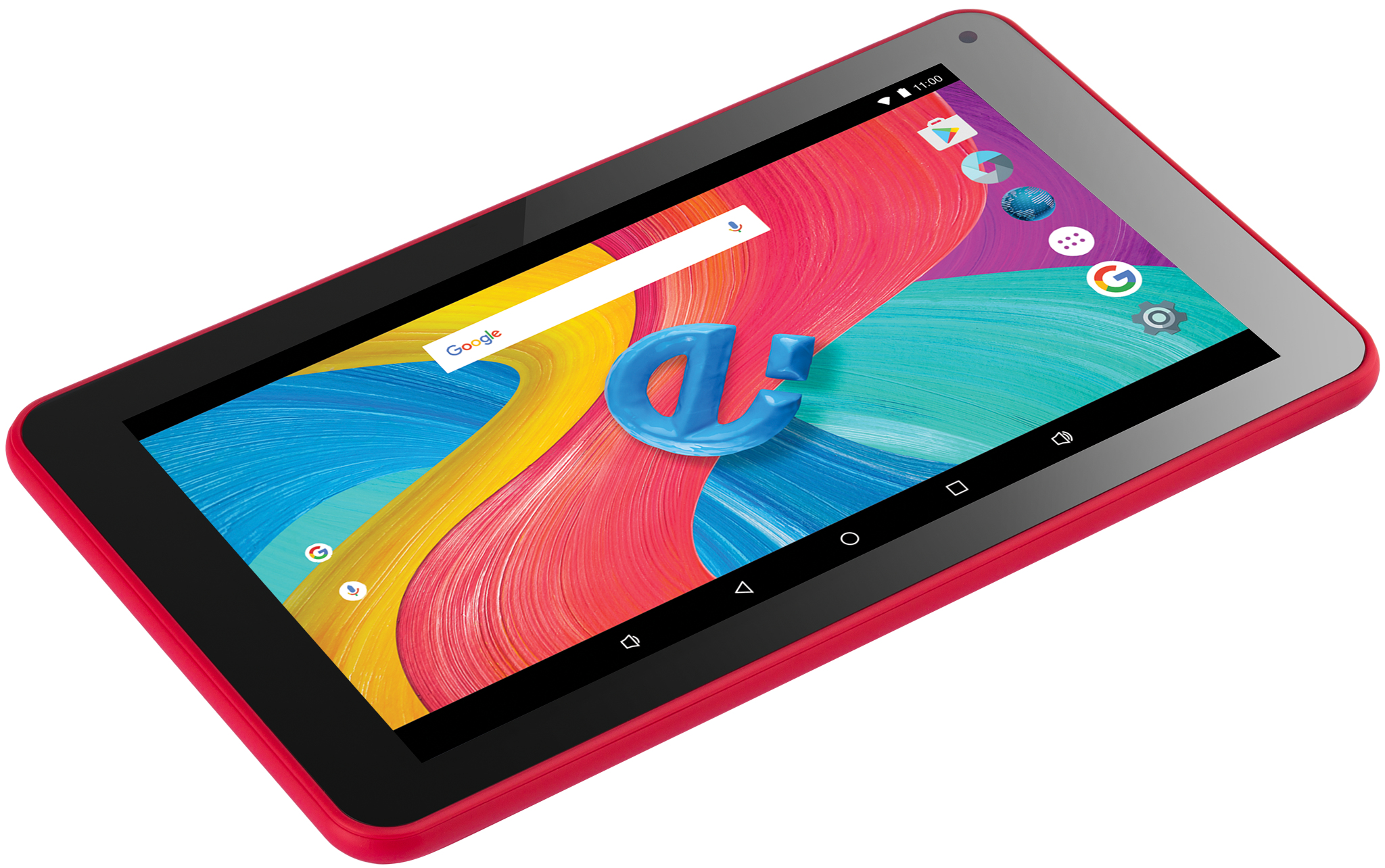 BEAUTY 2 8GB NEGRO, ROJO TABLET