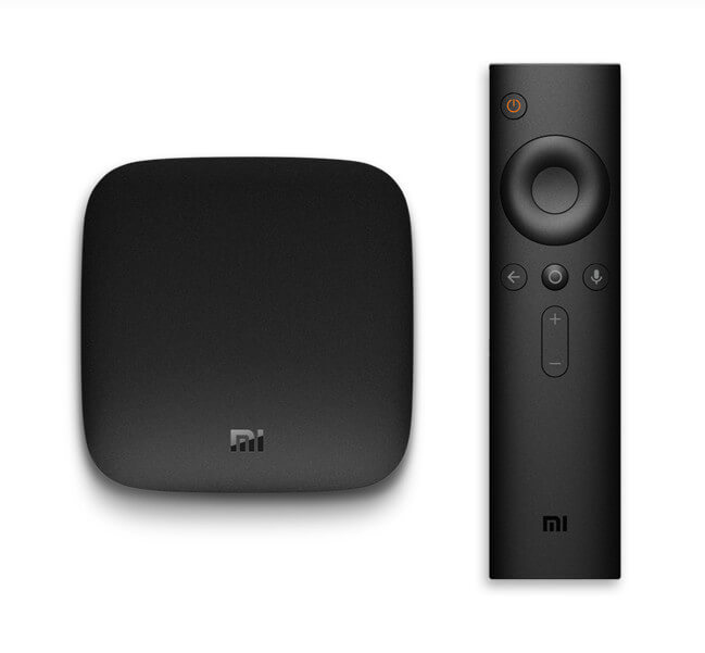 MI BOX 4K ULTRA HD 8GB WIFI NEGRO CAJA DE SMART TV