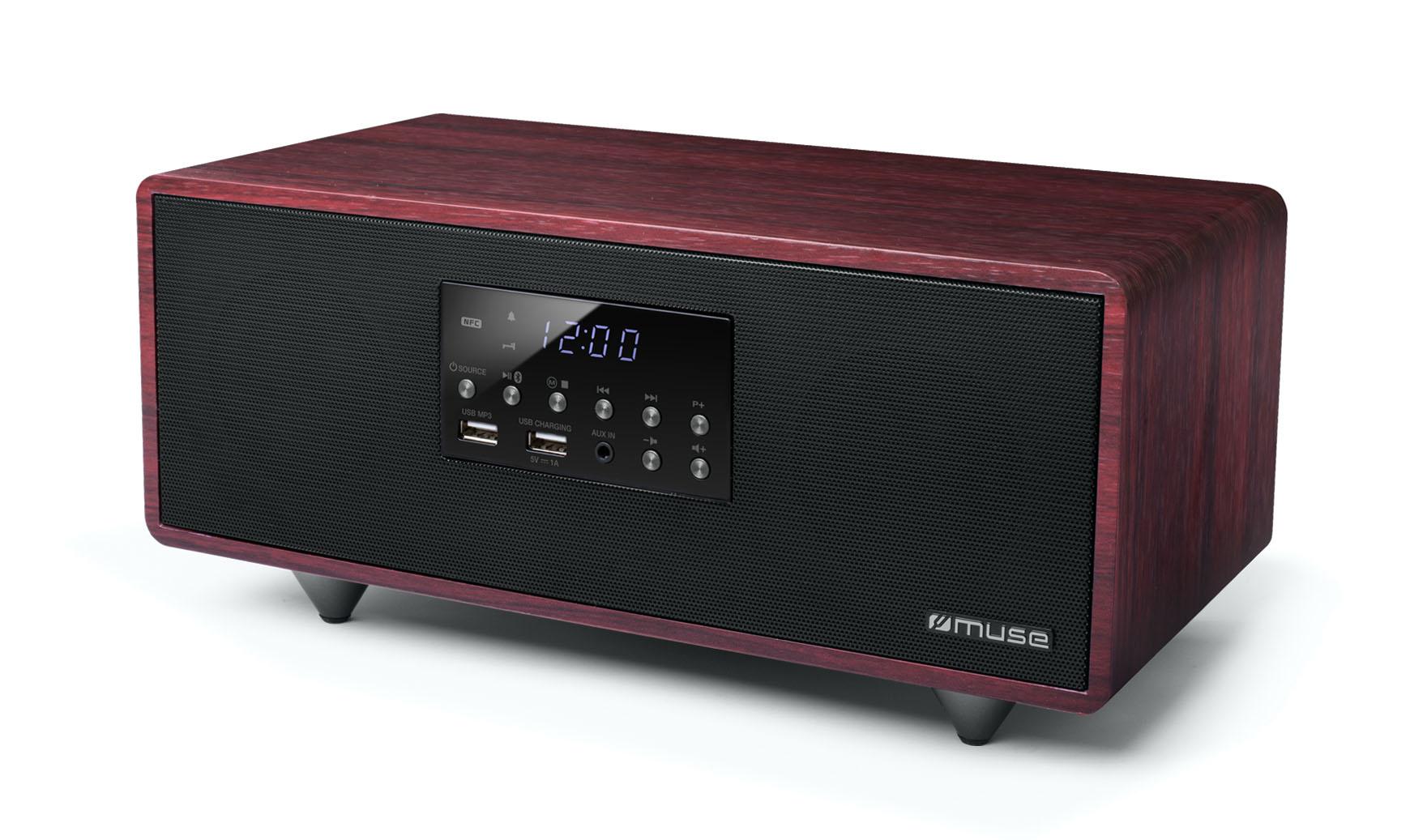M-630 DWT HOME AUDIO MINI SYSTEM 40W NEGRO, ROJO SISTEMA DE AUDIO PARA EL HOGAR