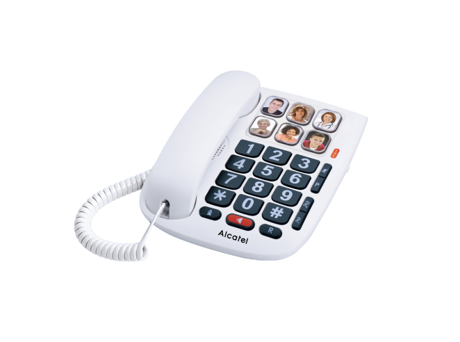 TMAX 10 TELéFONO ANALóGICO BLANCO