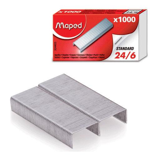 324405 GRAPA PAQUETE DE GRAPAS 1000 GRAPAS