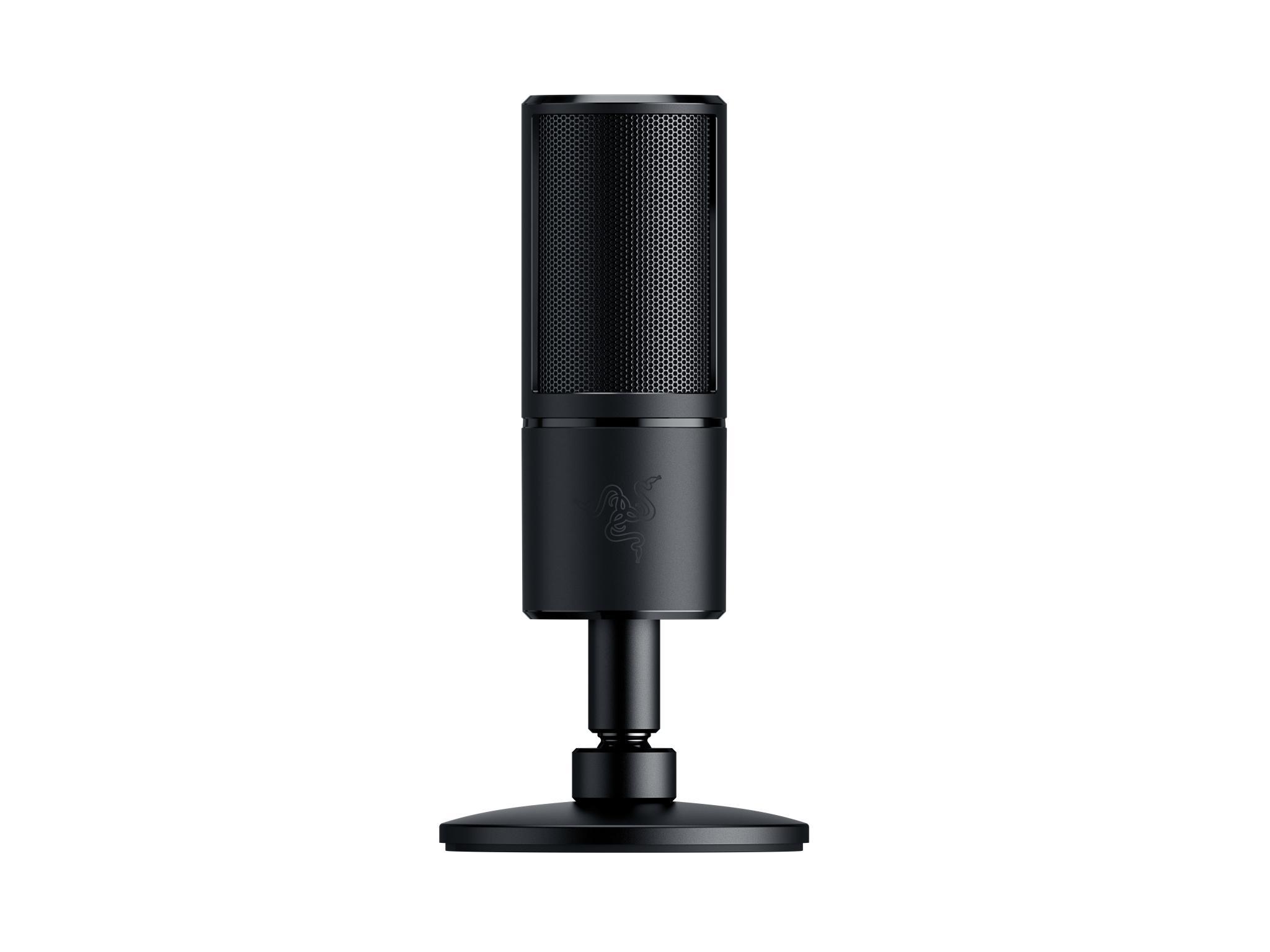 Seiren X Studio Microphone Alámbrico Negro