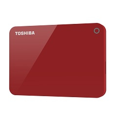 Canvio Advance 2000gb Rojo Disco Duro Externo