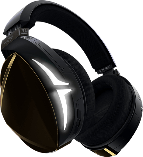 Rog Strix Fusion 500 Binaural Diadema Negro Auricular Con Micrófono