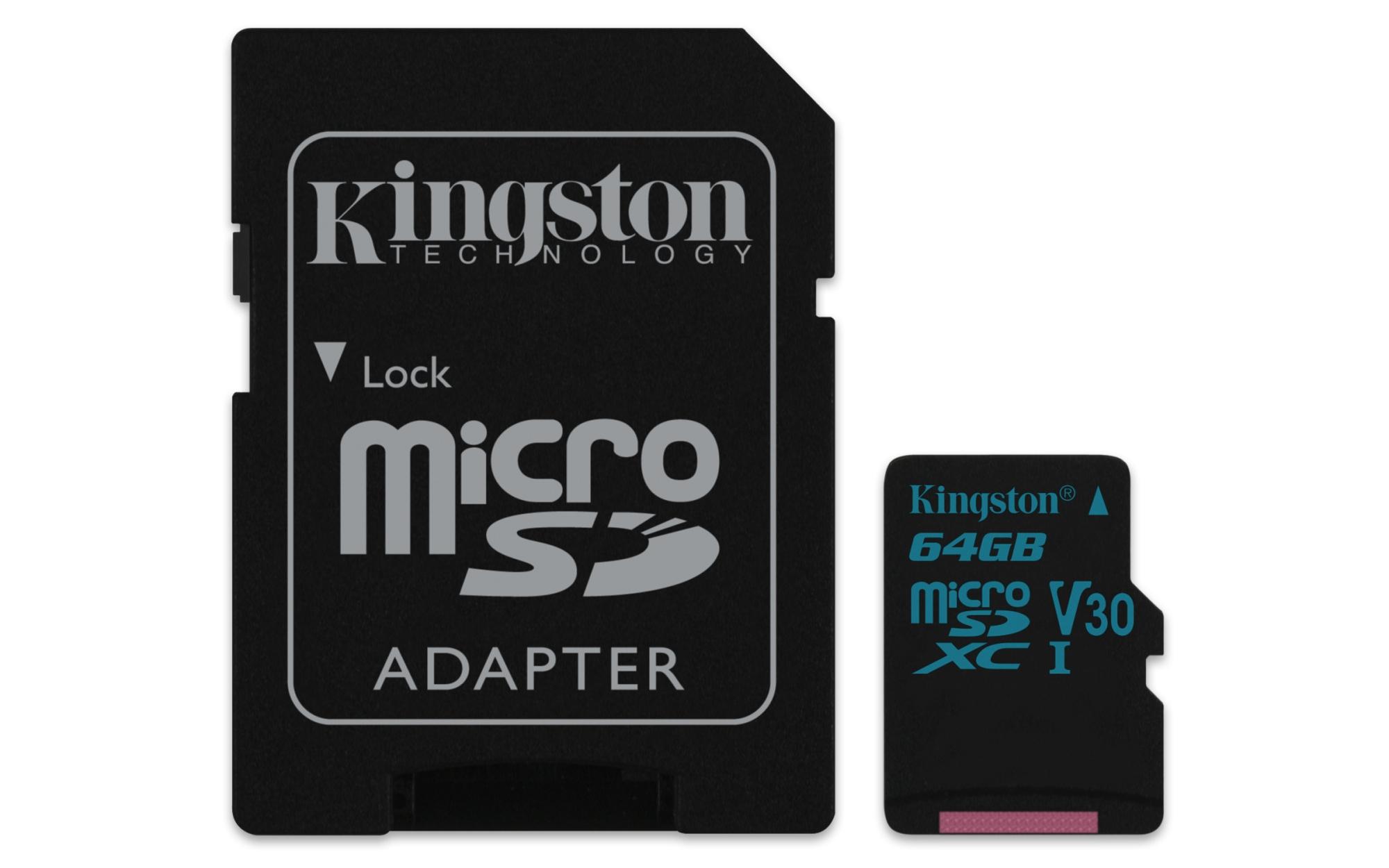 CANVAS GO! 64GB MICROSDXC UHS-I CLASE 10 MEMORIA FLASH