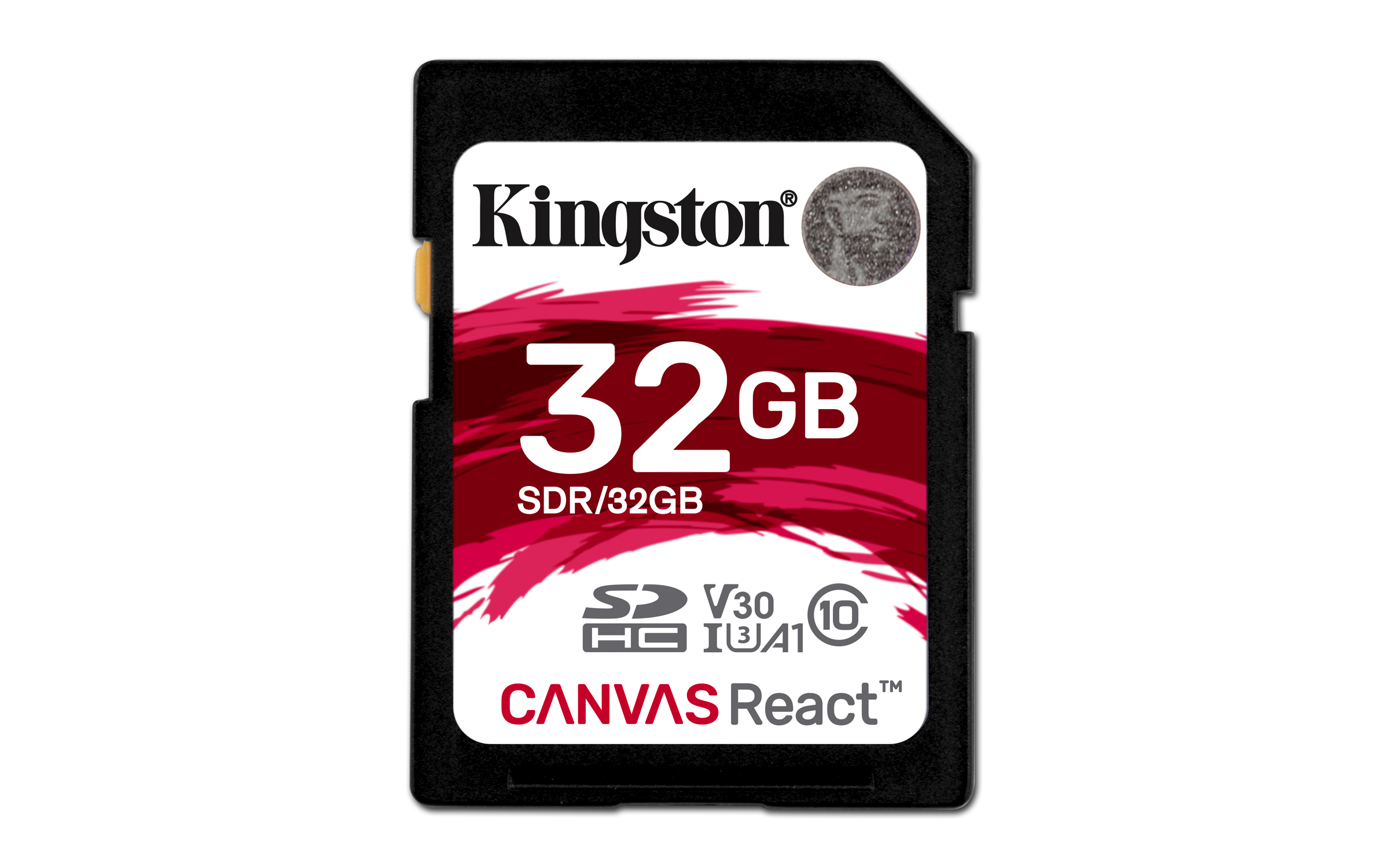 SD CANVAS REACT 32GB SDHC UHS-I CLASE 10 MEMORIA FLASH