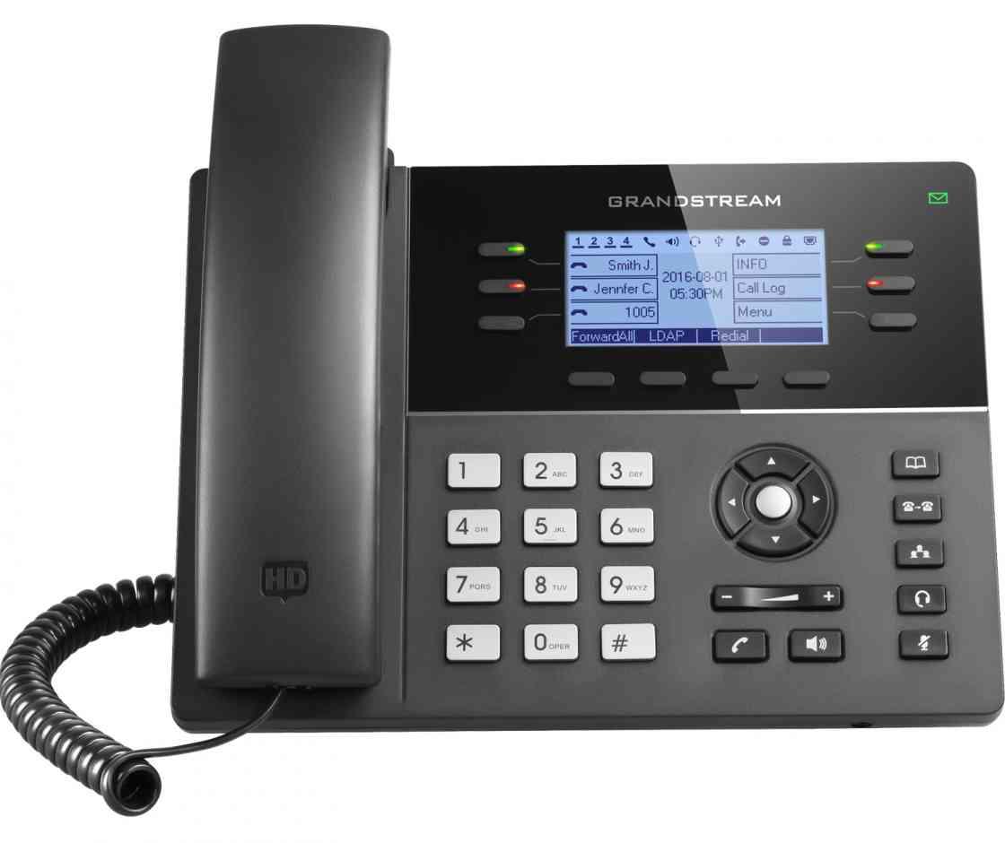 GXP1760W TELéFONO DECT IDENTIFICADOR DE LLAMADAS NEGRO TELéFONO