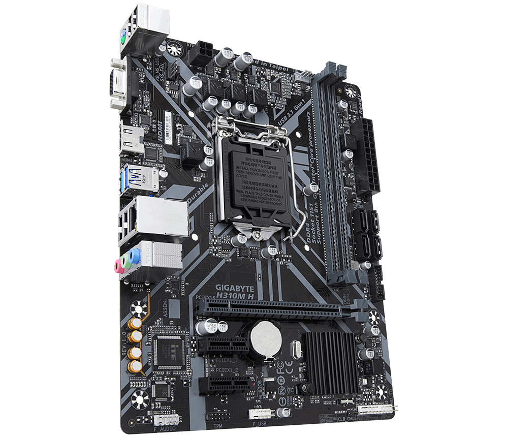 H310M H INTEL H310 LGA 1151 (SOCKET H4) MICROATX PLACA BASE
