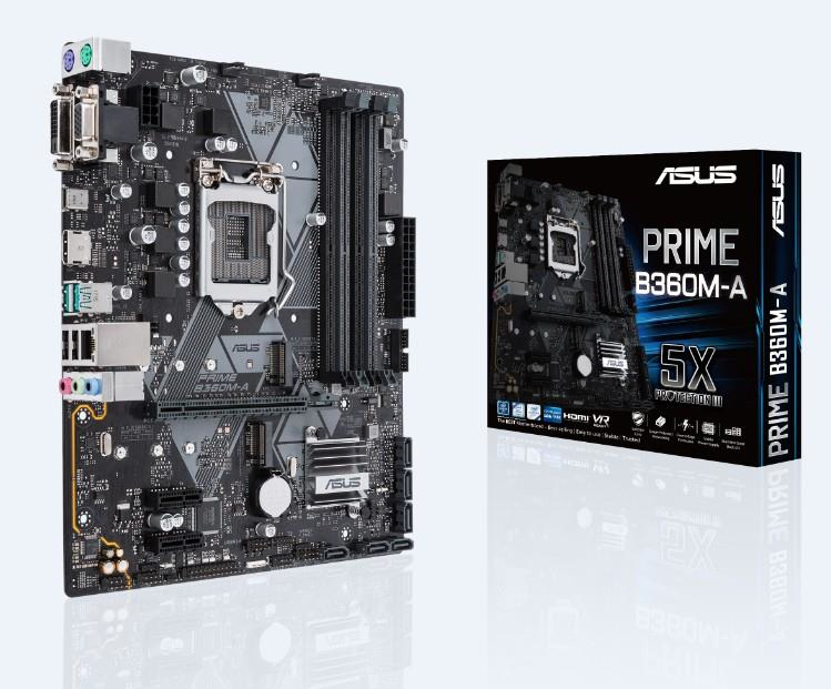 Prime B360m-a Intel B360 Lga 1151 (socket H4) Microatx Placa Base