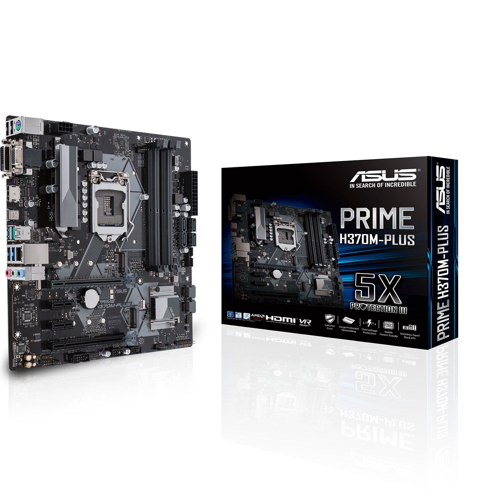 PRIME H370M-PLUS INTEL H370 LGA 1151 (SOCKET H4) MICROATX PLACA BASE