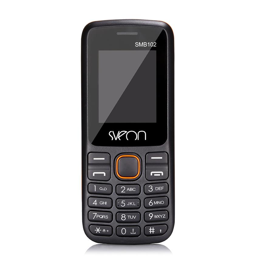 "TELFONO SVEON SMB102 NEGRO - DUAL SIM - 1.7""/4.5CM TFT - 500 MAH - MICROSD"
