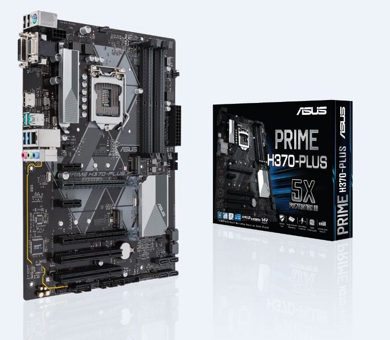 PRIME H370-PLUS INTEL H370 LGA 1151 (SOCKET H4) ATX PLACA BASE