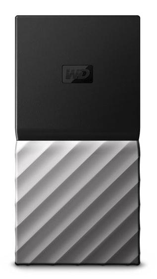 MY PASSPORT SSD 512GB NEGRO, PLATA