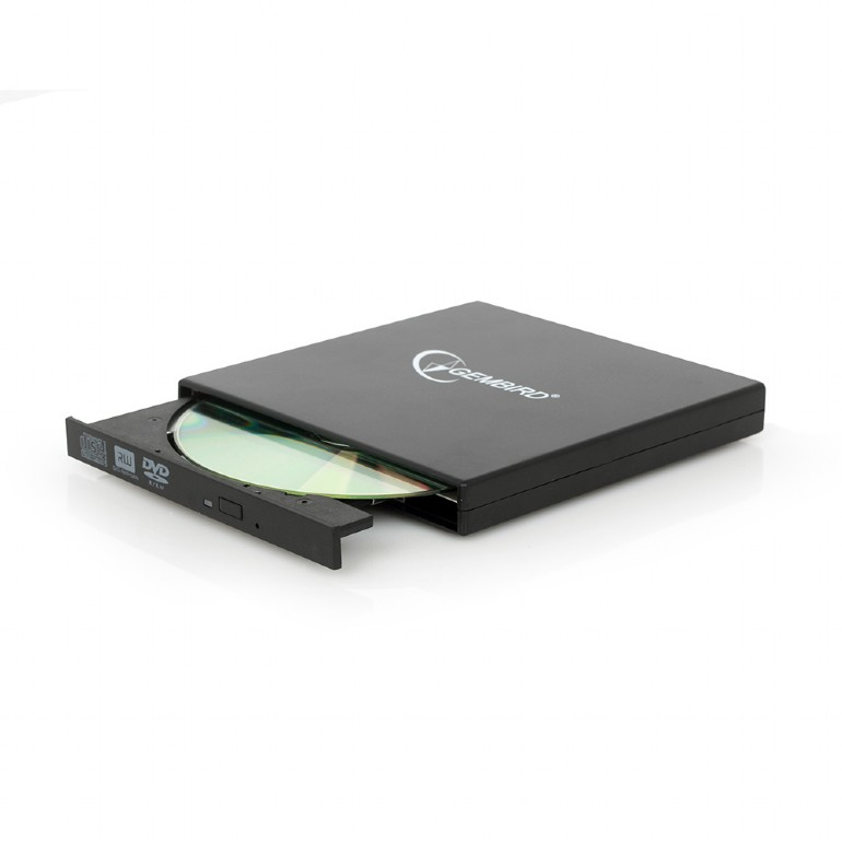 DVD-USB-02 UNIDAD DE DISCO óPTICO NEGRO DVD±RW