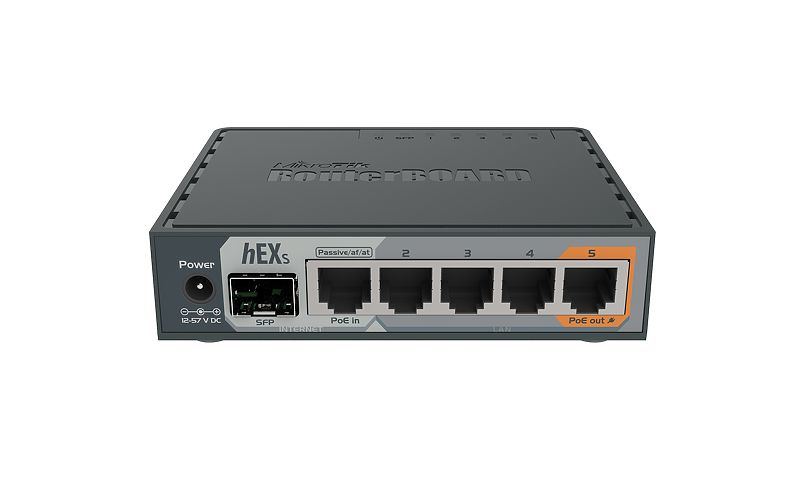 Hex S Router Ethernet Negro