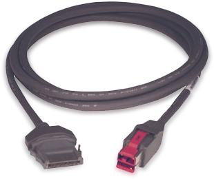 CABLE PUSB : 010857A CYBERDATA P-USB 12 PIES (EDG)