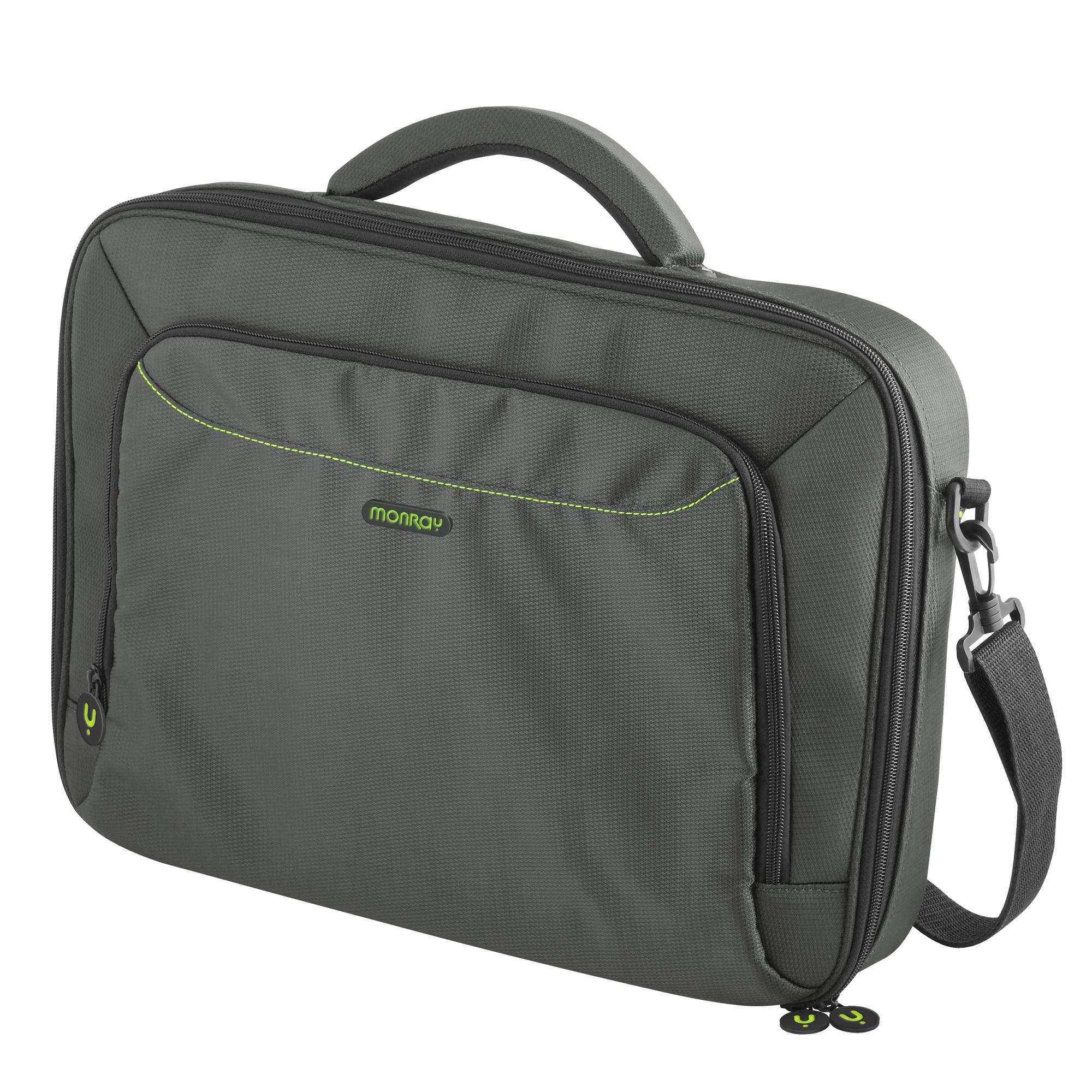 Maletn Ngs Capricegreen  - Para Porttiles Hasta 15.6/39.6cm - Interior Acolchado - Interior Verde