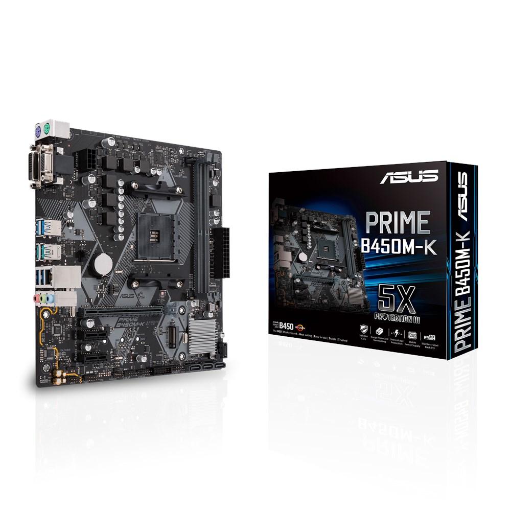 Prime B450m-k Zócalo Am4 Micro Atx