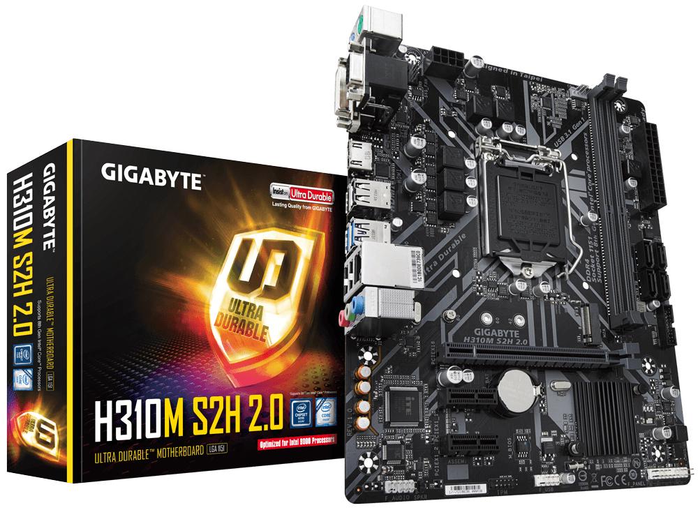 H310M S2H 2.0 PLACA BASE LGA 1151 (ZóCALO H4) INTEL H310 EXPRESS MICRO ATX
