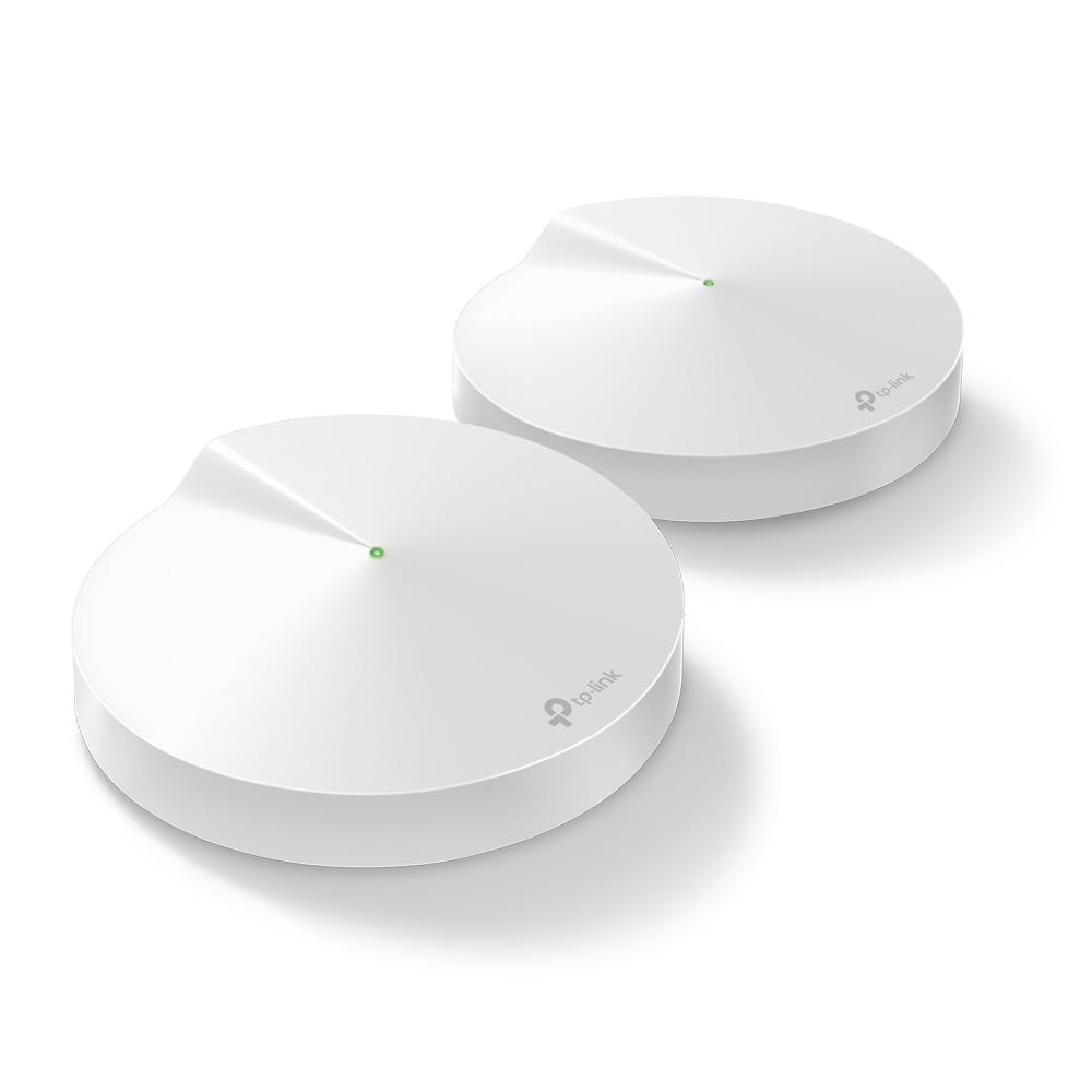 Deco M9 Plus (2-pack) Router Inalámbrico Doble Banda (2,4 Ghz / 5 Ghz) Gigabit Ethernet Blanco