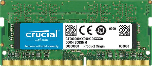 CT4G4SFS8266 4GB DDR4 2666MHZ MóDULO DE MEMORIA