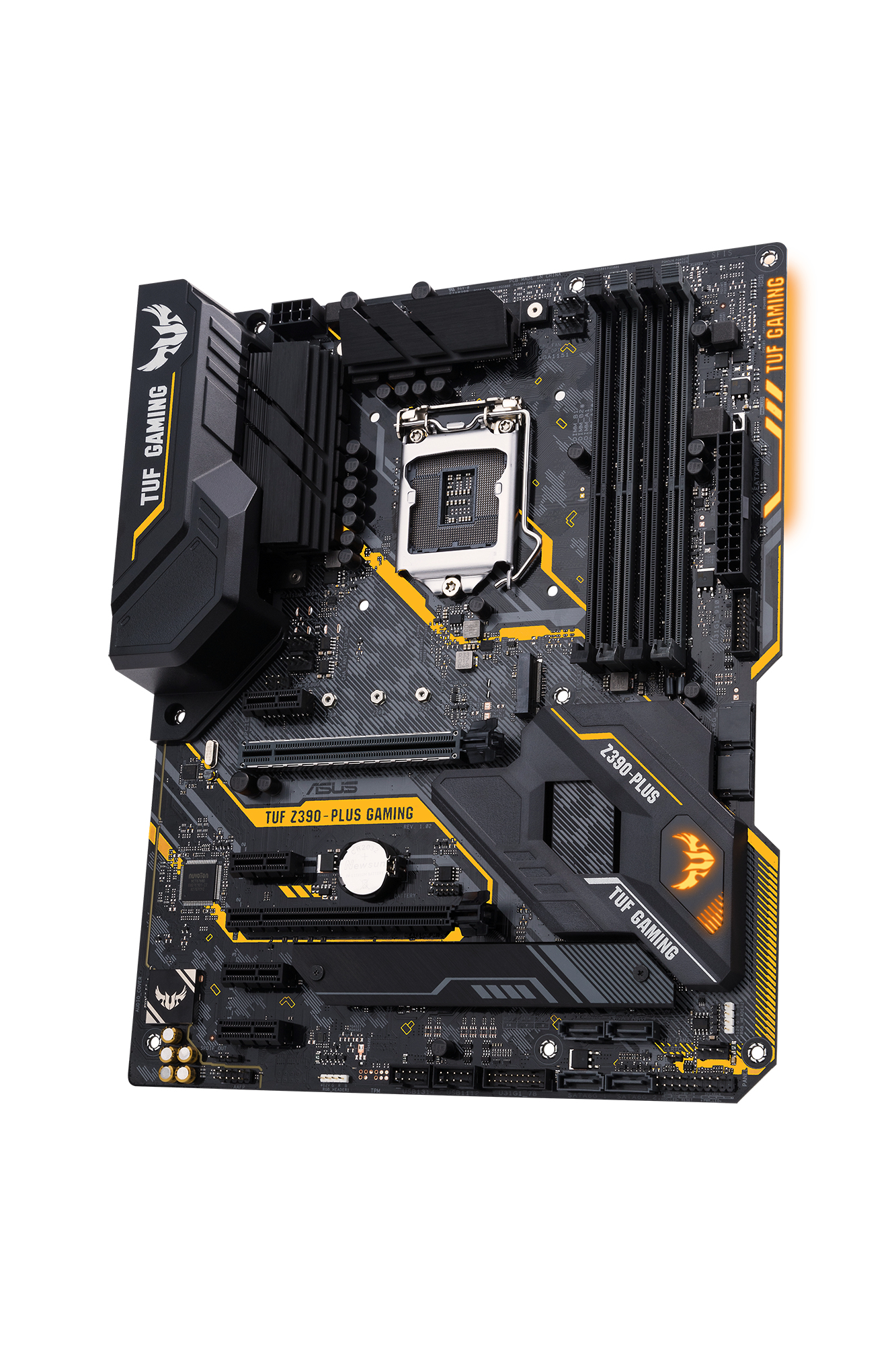 TUF Z390-PLUS GAMING LGA 1151 (ZóCALO H4) INTEL Z390 ATX